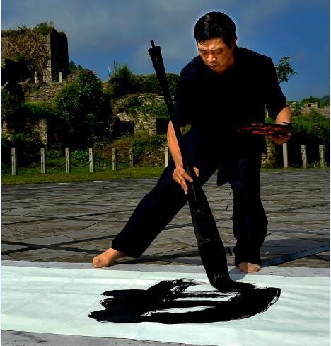 引领中国书坛的一代名家--谭贵清